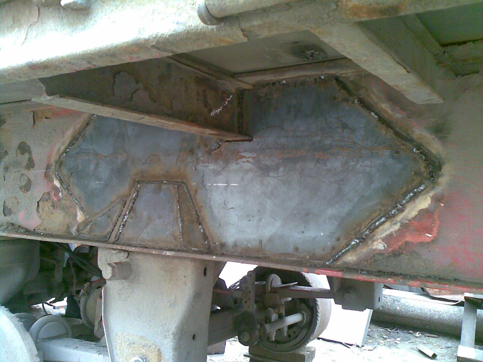 Фото ремонт рамы камаз